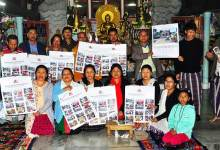 Itanagar: Tai Khampti - English calendar released
