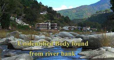 Arunachal: Unidentified Body found on the bank of river Pare
