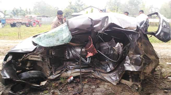 Arunachal: 3 dies in Bolero-Eon head-on collision at NH-52
