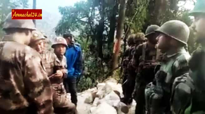 One more VIDEO proof of Chinese incursion in Arunachal