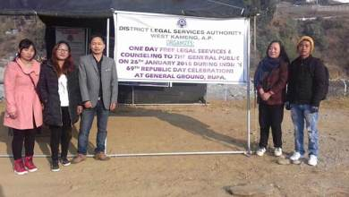 Photo of Arunachal: WKDLSA organised legal service awareness and counselling