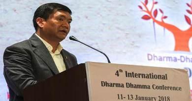 Arunachal CM Pema Khandu attends Dharma Dhamma Conference in Rajgir