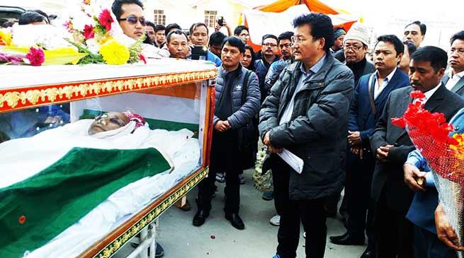 Condolences pour in for Arunachal former minister Tako Dabi