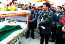 Photo of Condolences pour in for Arunachal former minister Tako Dabi