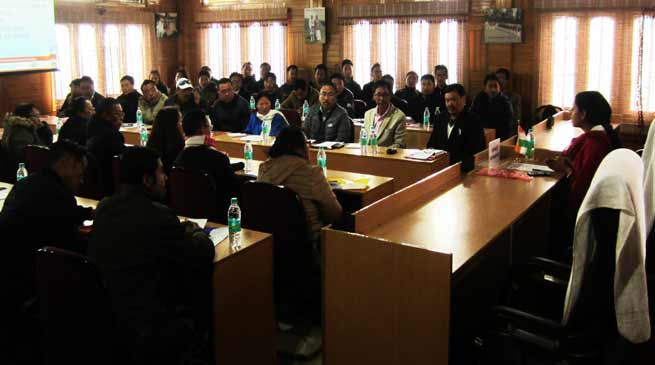 Arunachal: workshop on Measles Rubella vaccination campaign held at Bomdila