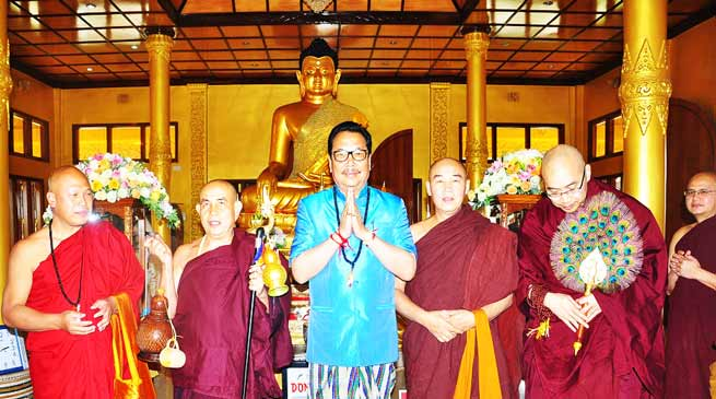 Arunachal: Thousands took part in Buddha Sasana Dhamma Desana