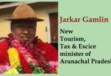 Arunachal:-Jarkar Gamlin gets Tourism, Tax and Excise portfolio