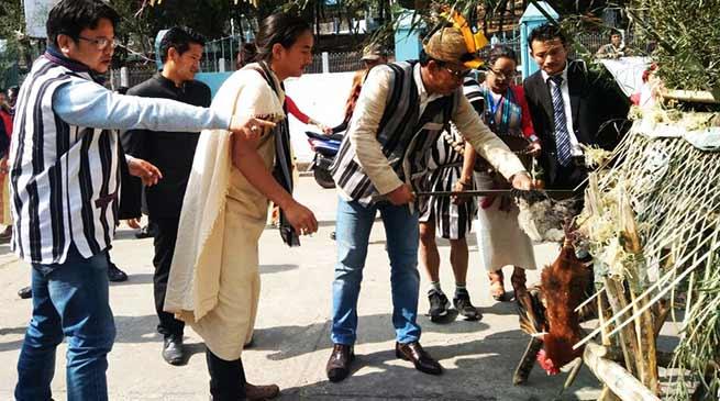 Nyokum Yullo festival of Arunachal celebrated at Shillong