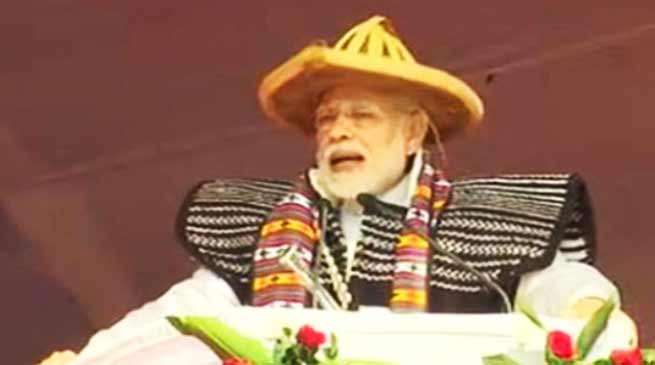 PM Modi lauds Pema Khandu for developing Arunachal Pradesh