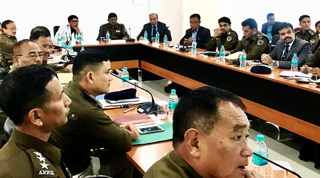 Arunachal: State security scenario reviews in SPs & COs conference