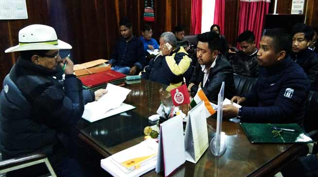 Arunachal: SUMAA-ESD discussed ILP issues with district administration