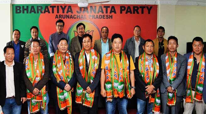 Arunachal: Former Congress Minister joins BJP