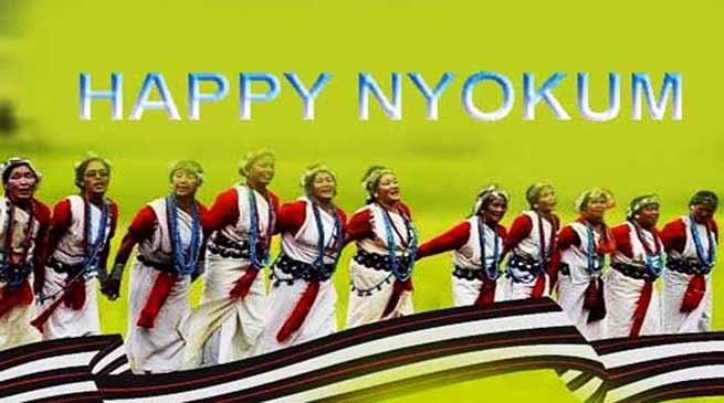 Arunachal: Khandu greets people on Nyokum Yullo festival
