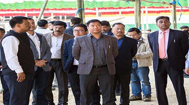 Arunachal: Itanagar ready to welcome PM Modi