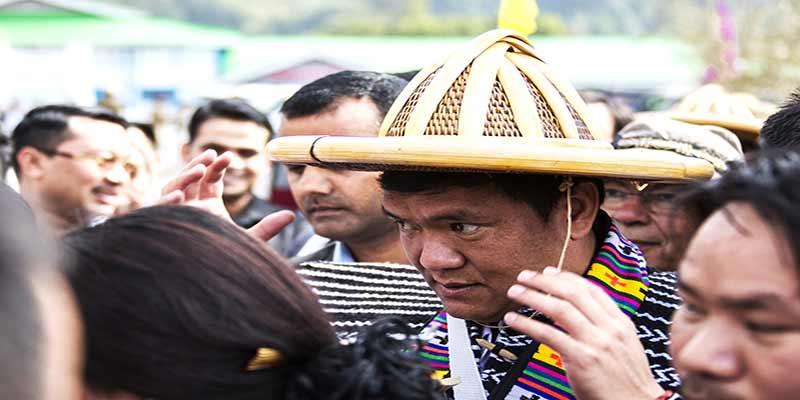 Arunachal: Khandu attends Golden Jubilee Central Reh Celebration