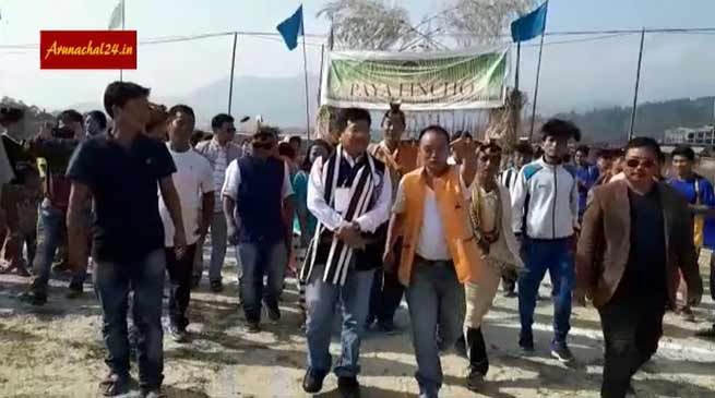 Arunachal: Sports events of 21st Nyokum Yullo festival in Jullang begins