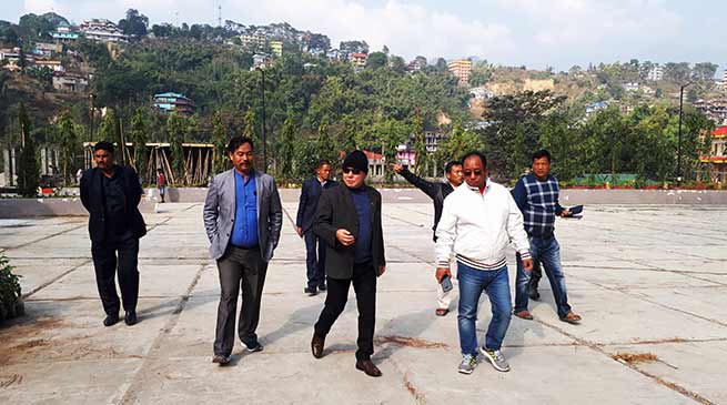Arunachal: Rebia, Kaso inspected Convention Hall