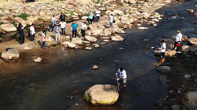 Arunachal:YMFCR launches clean Senki river drive