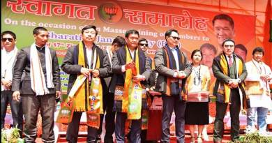 Arunachal: Panchayat leaders join BJP en mass in Ziro