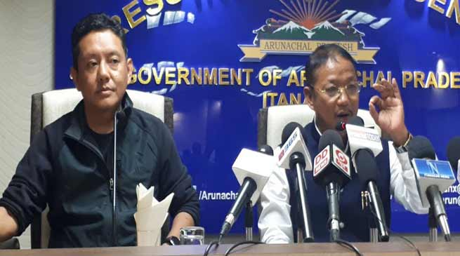 Arunachal:  Pario's allegation is surprising and unfortunate- Felix