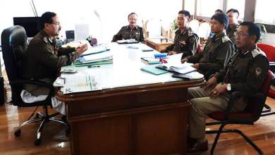 Photo of Arunachal : New DGP SBK Singh reviews L&O with the top cops