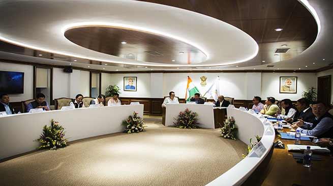 Arunachal : Khandu inaugurates Cabinet Room
