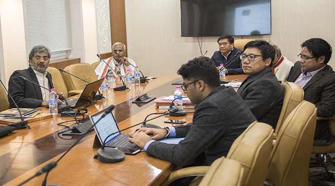 Khnadu discusses Indeco Hotels to develop Arunachal as Spiritual Destination