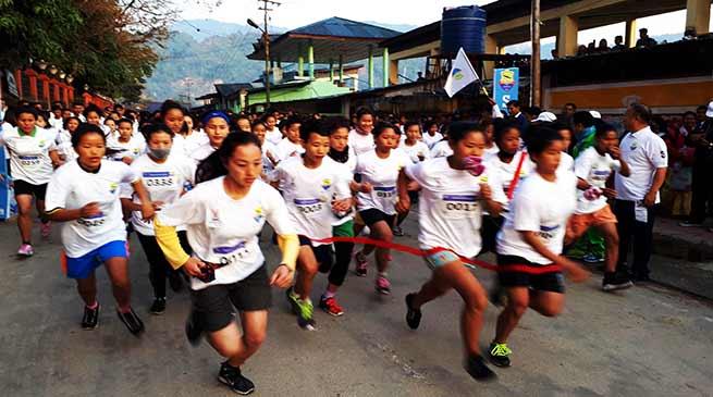 Arunachal: Mini marathon on theme 'Run for sports'