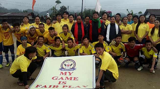 Arunachal: Mithun Trophy Football Tournament held with motto to save mithun