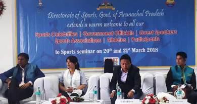 Arunachal: Seminar on sports development and activities begins