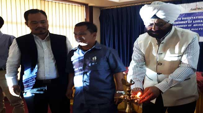 Arunachal: Sukhvinder Singh appeal to learn more from workshop of seminars
