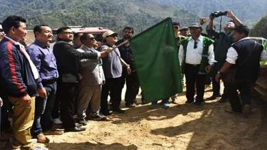 Photo of Arunachal: Felix flag off Construction work of NH-713 in Kra Daadi district