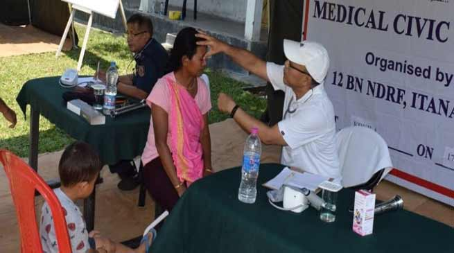 Arunachal: NDRF organises free medical camp at Kokila