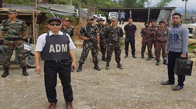Arunachal: Talo Potom carried out eviction drive in Itanagar