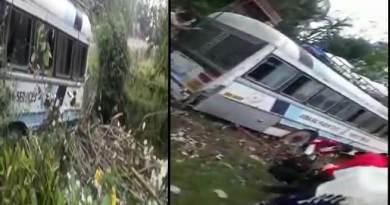 Arunachal: APST bus meet accident, passenger unhurt