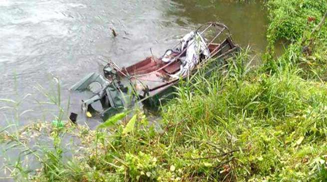 Arunachal: Army Vehicle falls into Kundil river, 3 Jawan die, 1 Injured