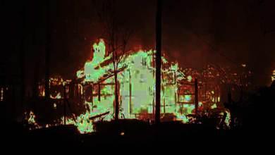 Photo of Arunachal : 43 houses gutted down in a fire mishap at Guna Nagar