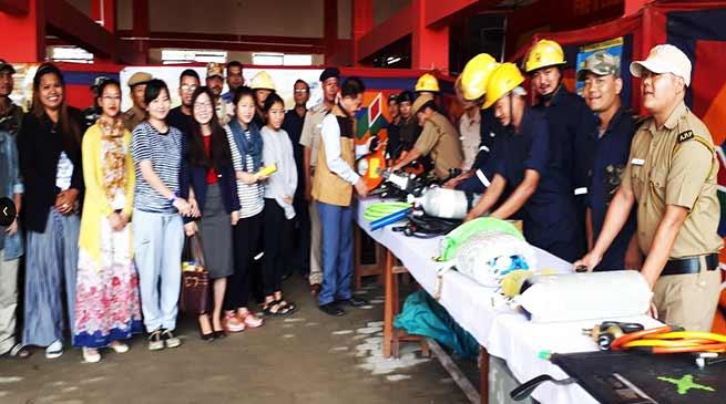Arunachal: Fire Service organises awareness programme