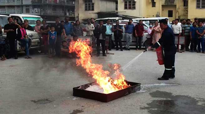 Arunachal: Fire & Emergency Services week concludes
