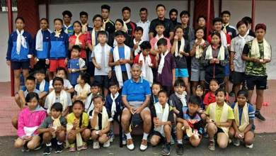 Photo of Arunachal:  Governor  interacts with budding badminton players