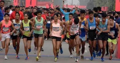Assam : International Run in support of a 'Clean India'