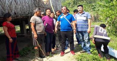 Itanagar: Kaso visits storm affected are of his constituency