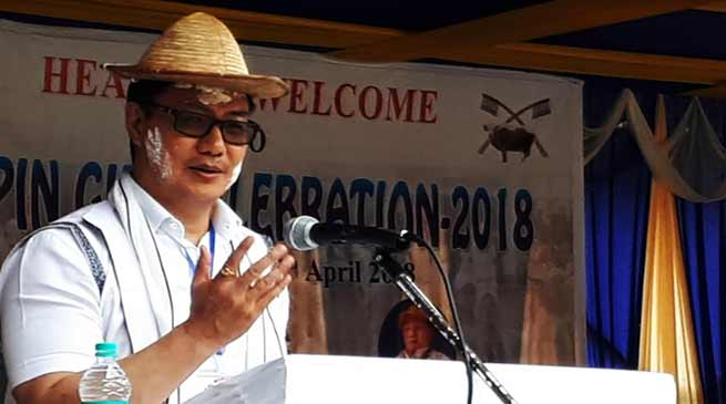 Arunachal : Leppa Rada new district soon-Kiren Rijiju