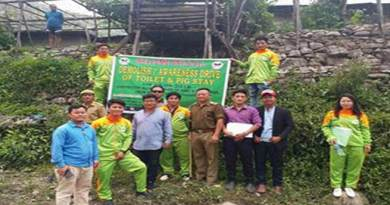 Arunachal: demolition awareness drive by Clean and Green Sagale