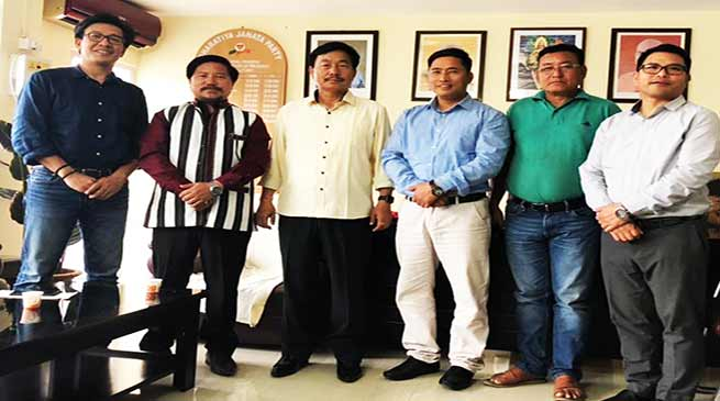 Arunachal:  BJP Withdraw Disciplinary Action Committee Proceeding against Taram and Bage