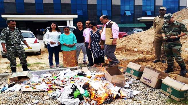 Arunachal:Civil Secretariat to be free from all tobacco product- Taw Nayam