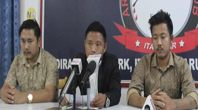 Arunachal:Ojing Taying murder case- BOWS demands CBI enquiry