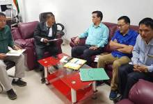 Photo of Arunachal: Bamang discuss issues related to Government Model Degree College of Palin