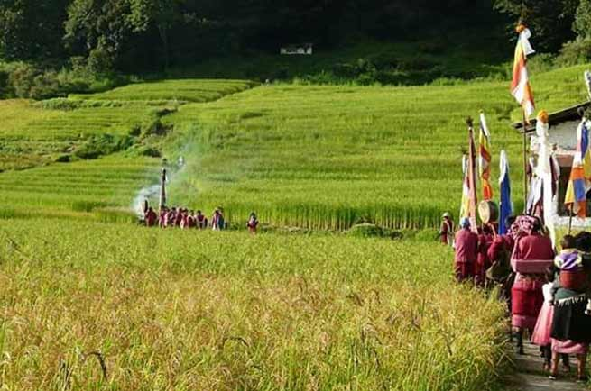 Arunachal : Choekhor festival celebrated in Bomdila and Tawang