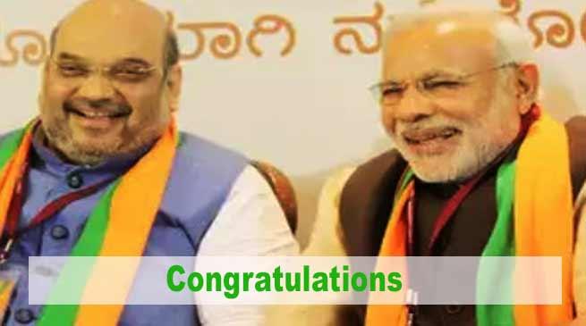 Arunachal: Khandu congrats Shah and Modi for Karnataka victory